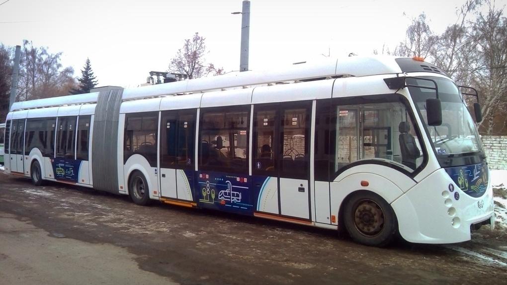 В ногу со временем: в Тамбове ездит электробус
