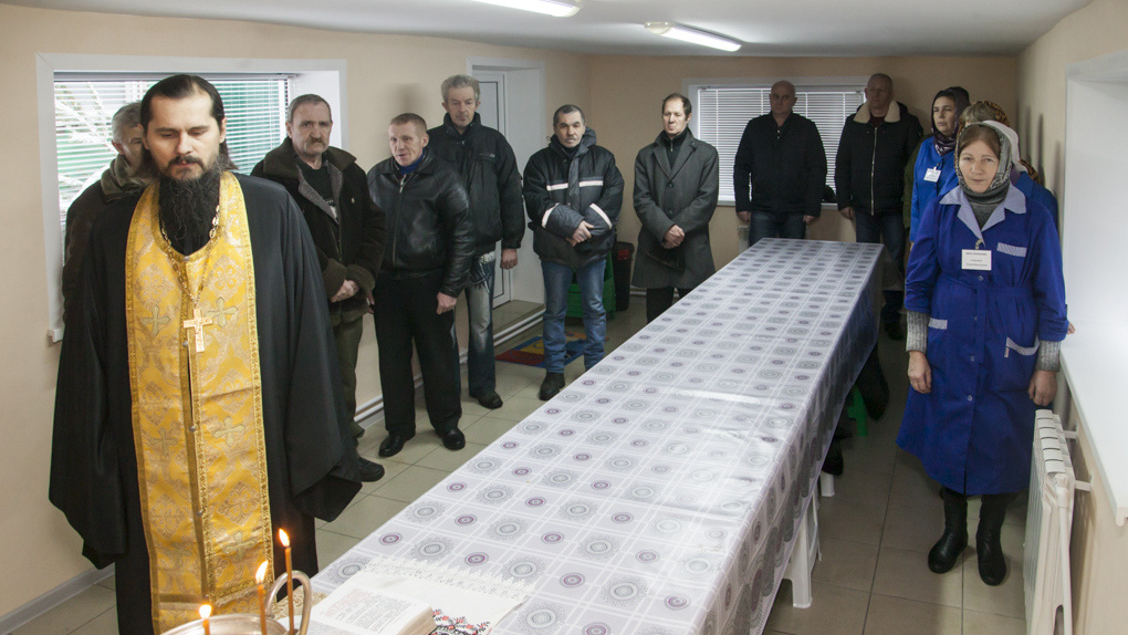 В Тамбове открылась столовая для бездомных