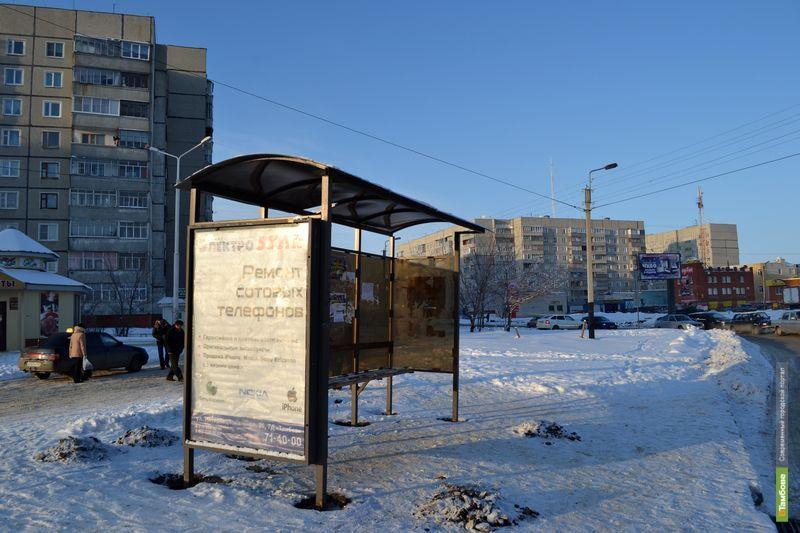 В Тамбове одной автобусной остановкой стало меньше