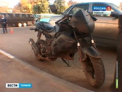 Тамбовские полицейские поймали пьяного мотоциклиста на празднике
