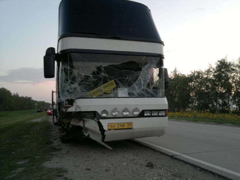 В Тамбовской области попал в ДТП автобус с 49 пассажирами
