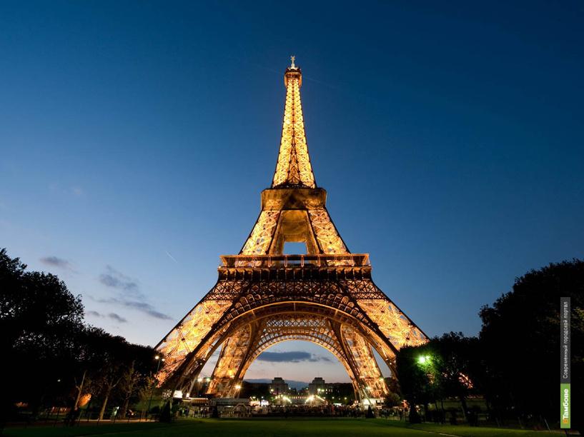 В Рассказово установят Эйфелеву башню в миниатюре