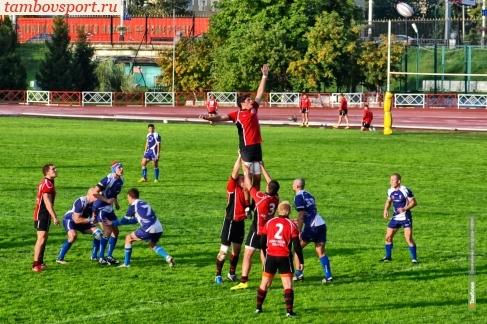 В Тамбове состоялась игра Высшей лиги по регби-15