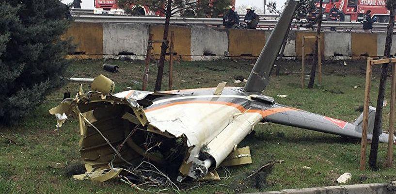 В пригороде Стамбула разбился вертолет с четырьмя россиянами