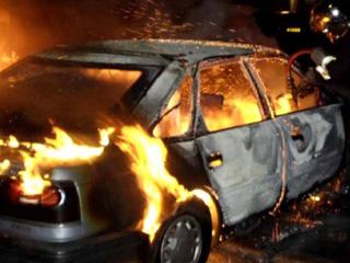 Еще один автомобиль сгорел в Тамбове