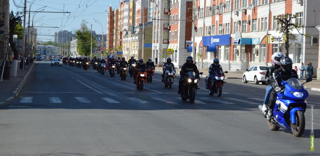 Мы там были: колонна из 200 человек на квадроциклах и мотоциклах проехала по городу