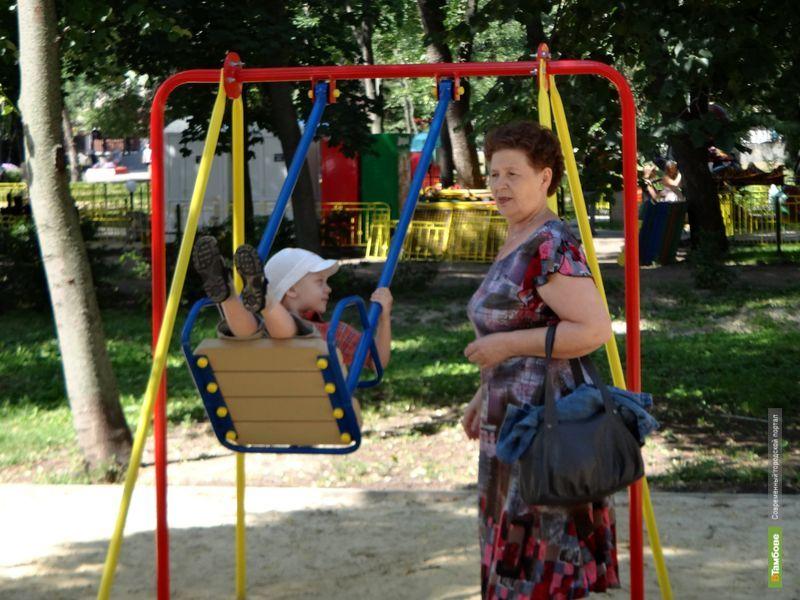 Все детские площадки ВТамбове проверят на безопасность