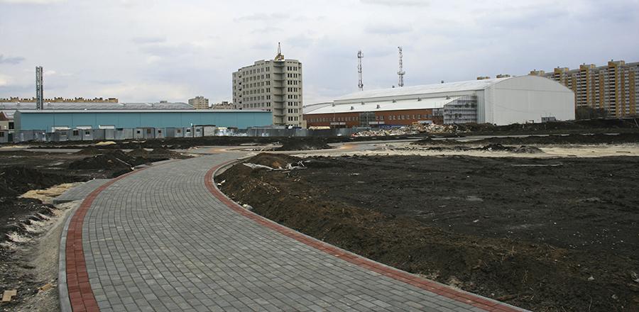 Олимпийский парк может поменять свою форму