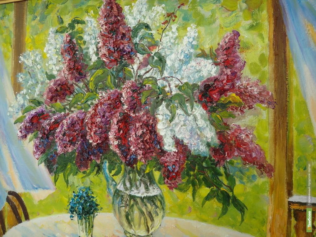 Художники подарили тамбовчанам весеннюю экспозицию
