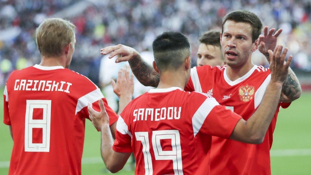 5:0! Россия разгромила сборную Саудовской Аравии на Чемпионате мира по футболу