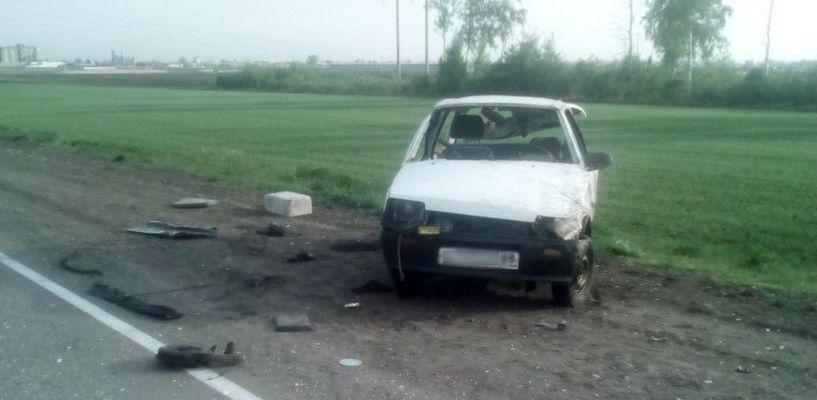 Трое молодых людей пострадали в результате ДТП в Петровском районе