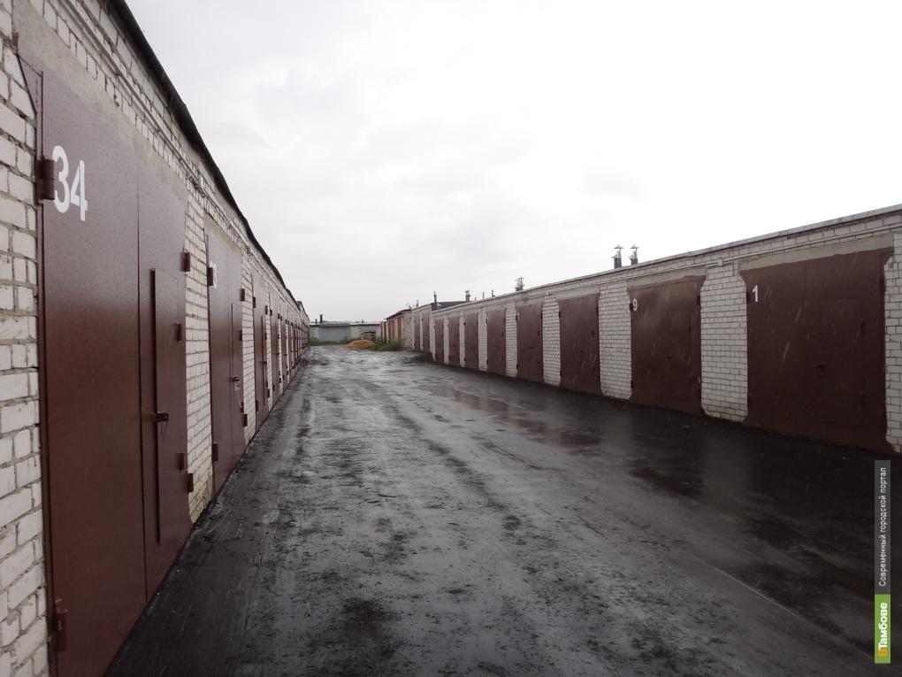 Новый гаражный комплекс появился на севере Тамбова