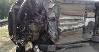 В Кирсановском районе Ford врезался в бетонное ограждение моста