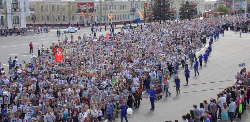 В рекламном агентстве «Лерикс.РФ» помогут с транспарантами для акции «Бессмертный полк»