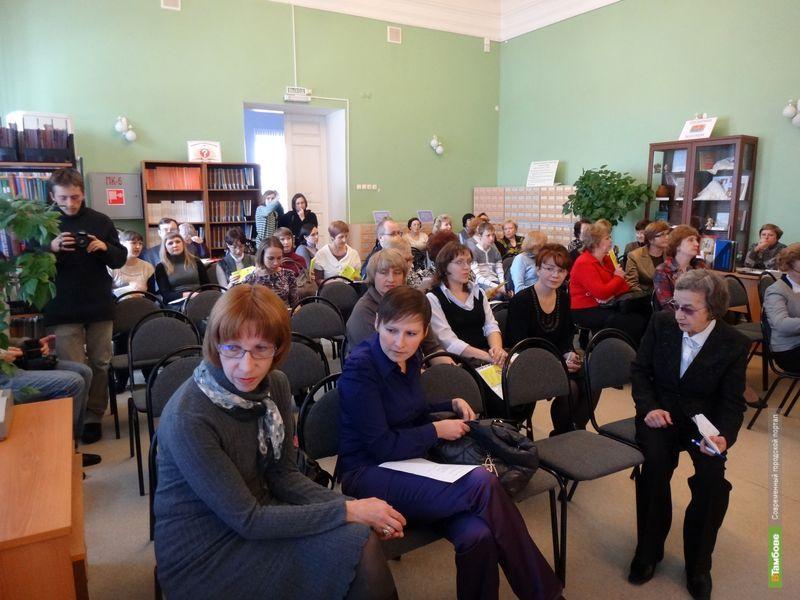 В Тамбове стартовал фестиваль чтения