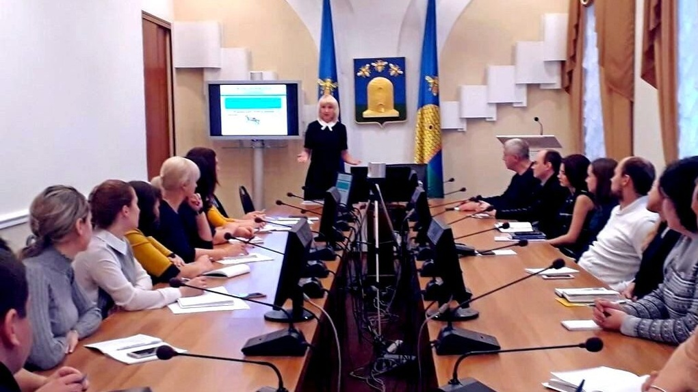 Доцент Президентской академии провела лекцию для муниципальных служащих Тамбова