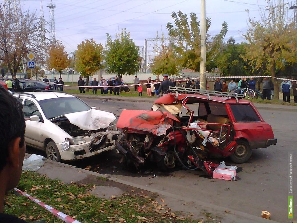 В Тамбове произошла крупная авария