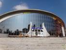 Фасадные работы в «Кристалле» обещают завершить к сентябрю