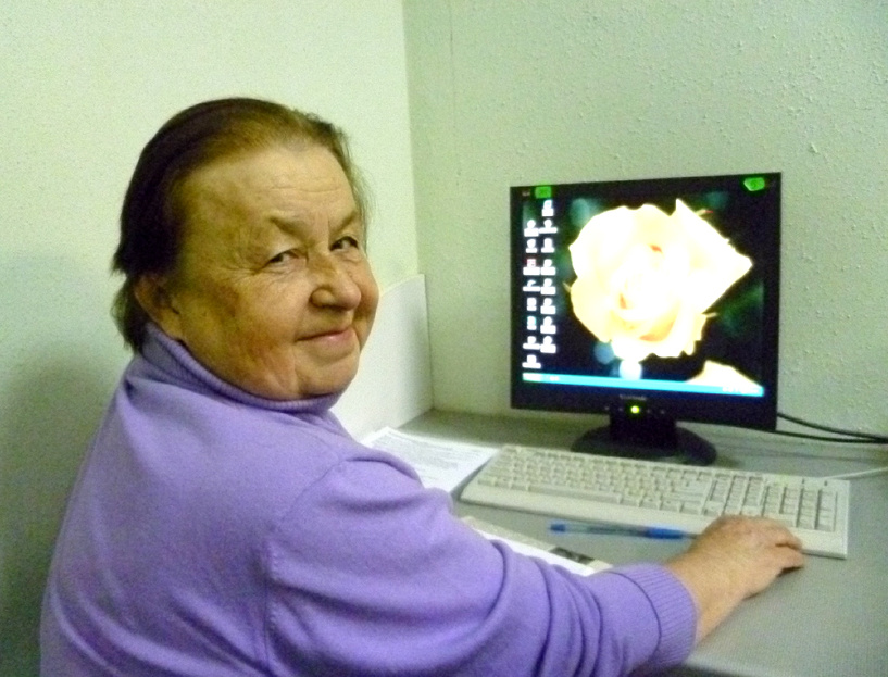 Пожилых тамбовчан научили пользоваться Скайпом