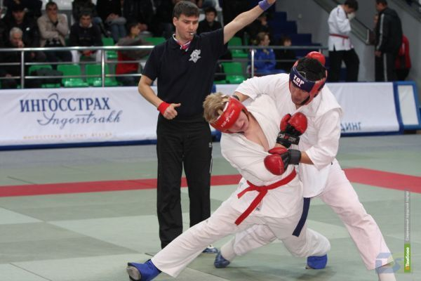 Тамбовские рукопашники поборются за путевку на Чемпионат России