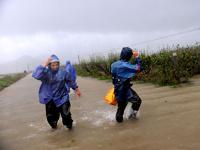 Тайфун заставил эвакуироваться полтора миллиона китайцев