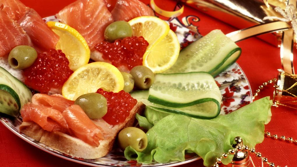 Тамбовчане не следили за калориями во время новогодних праздников