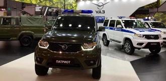 УАЗ представил новые спецавтомобили на Международном военно-техническом форуме «АРМИЯ-2017»