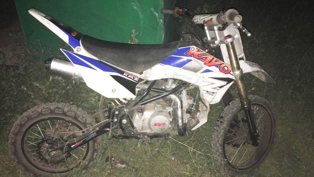 Несовершеннолетний мотоциклист попал в ДТП в Токаревском районе