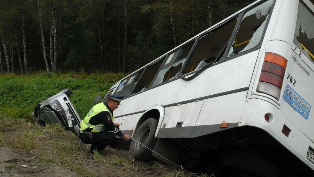 В 2017 году в Тамбове произошло 19 аварий по вине водителей пассажирского транспорта