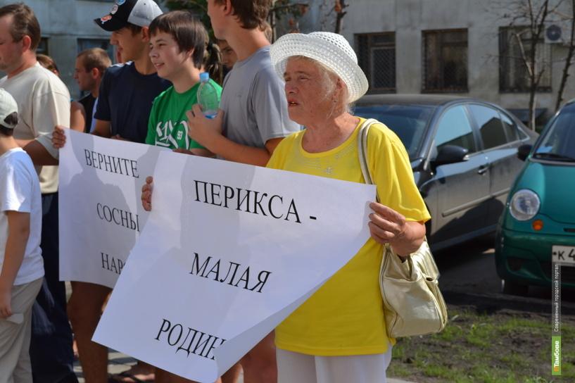 """Тамбовчане готовы  защищать сосновый лес в """"Пусть говорят"""""""