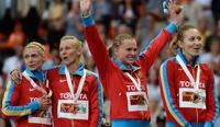 Сборная России вышла в лидеры общекомандного зачета на чемпионата мира