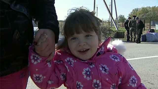 Семья из Тамбова приютила девочку из Донецка