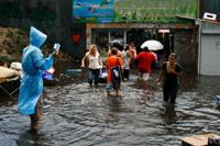 В Харькове затопило метрополитен