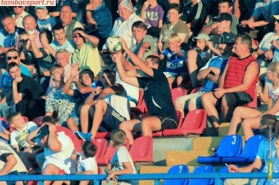 «Спартак» из Тамбова заплатит за горячность болельщиков
