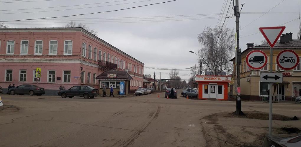 Водитель иномарки сбил девушку в Моршанске