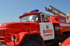 В Тамбове на улице Чичерина сгорел автомобиль
