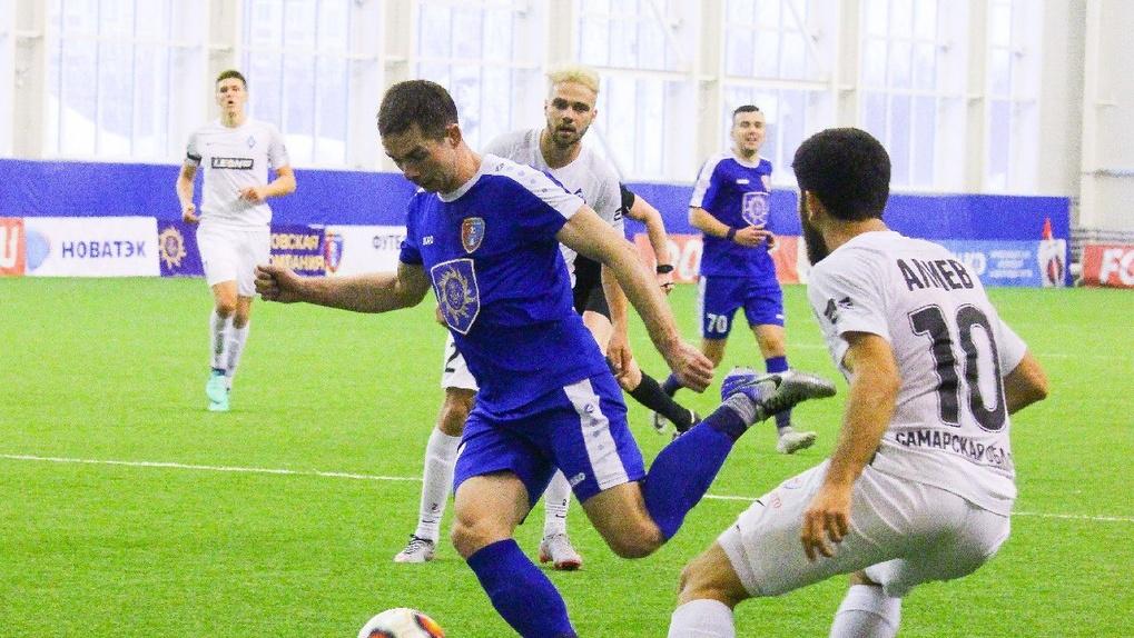 ФК «Тамбов» снова проиграл «Крыльям советов»