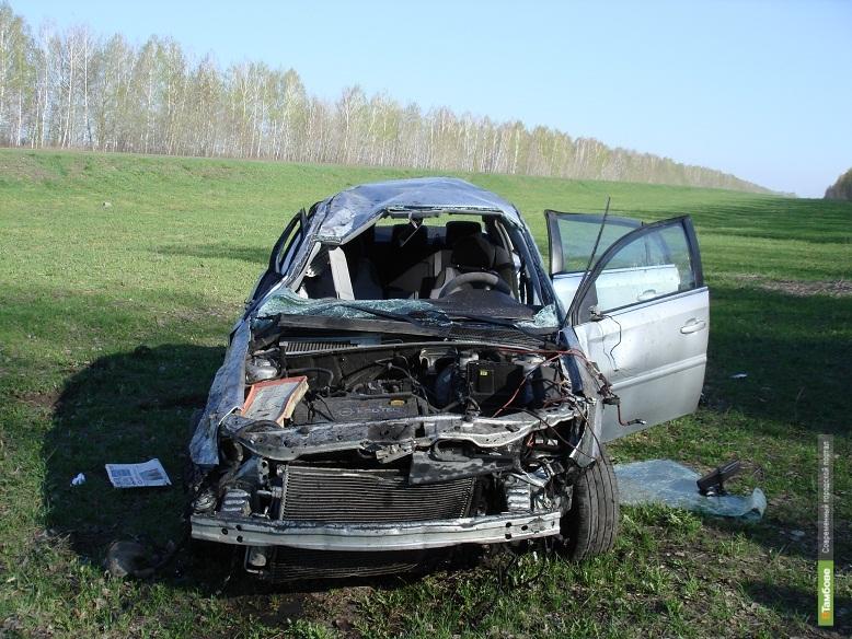 Москвичи попали в ДТП на тамбовской дороге