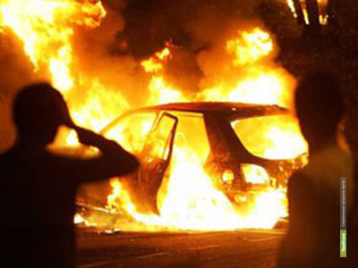 Два автомобиля сгорели ВТамбове за минувшие сутки