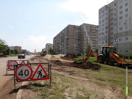 ВТамбове началось строительство мега-парковки