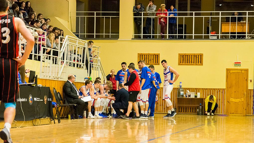 Всё решила первая половина игры: БК «Тамбов» провёл очередной матч чемпионата
