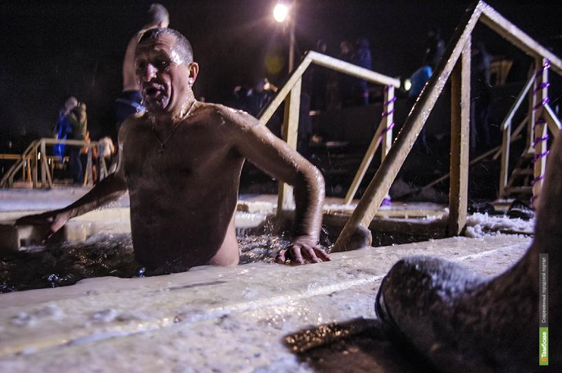 Жители Тамбова окунулись в крещенские купели