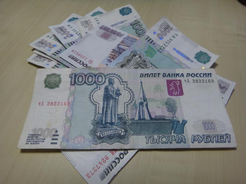 В выручках тамбовских магазинов за день обнаружили 13 тысяч фальшивых рублей