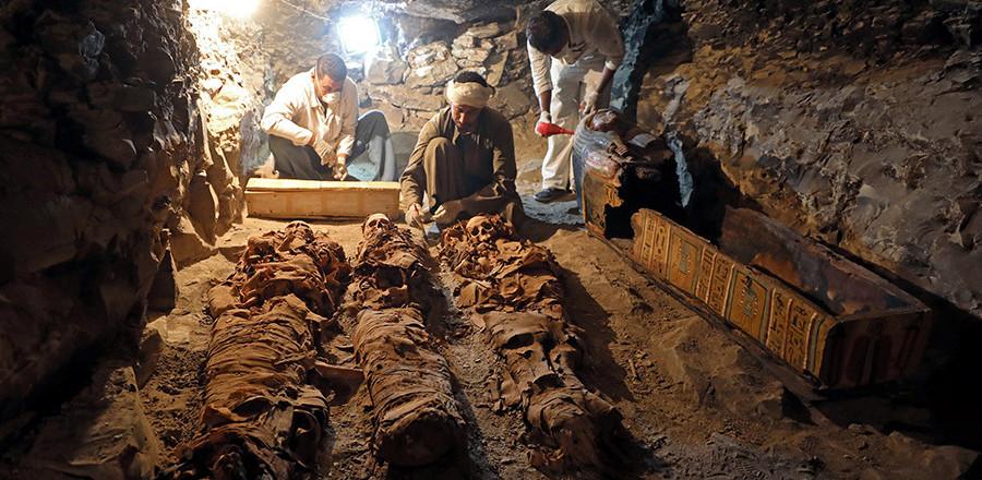 Археологи нашли в Египте гробницу ювелира фараонов возрастом в 3 500 лет