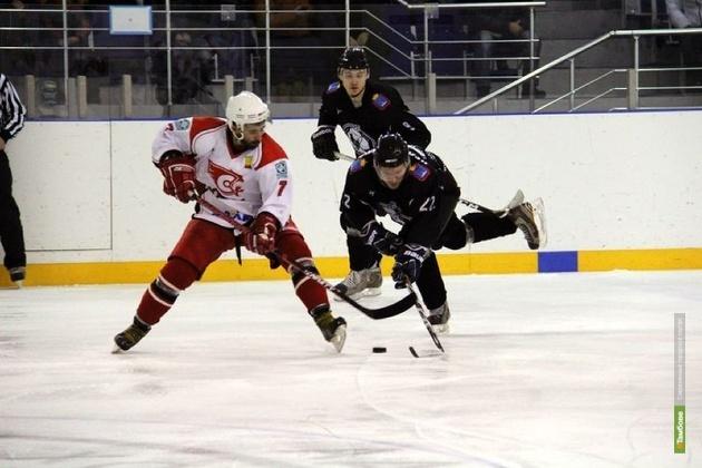 Тамбовские хоккеисты одержали победу на выезде