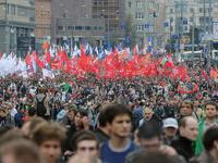 В Москве 20 человек закончили «Марш миллионов» в полиции