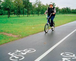 На Рассказовском шоссе появятся велосипедные дорожки