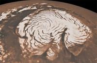 Японские ученые нашли на Марсе снег