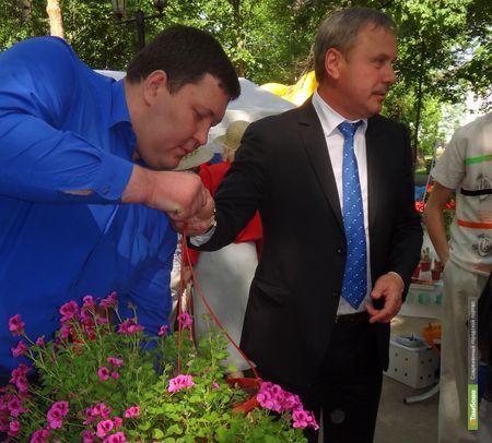 """Сити-менеджер Тамбова купил себе растение на """"Фестивале цветов"""""""