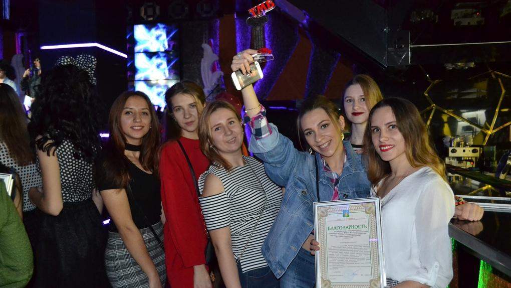 Лучшие студенты Тамбовского филиала РАНХиГС приняли участие в молодежном карнавале «Метелица»